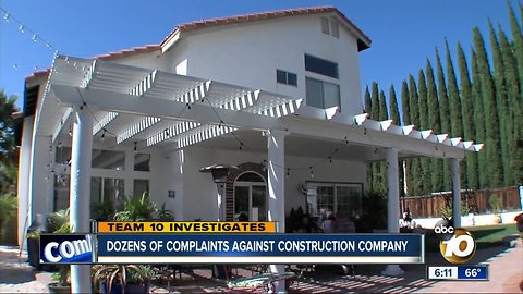State revokes the license of a local contracting company