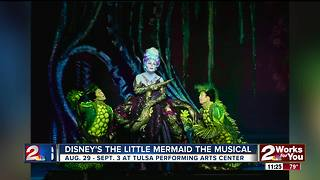 Disney's 'The Little Mermaid' at Tulsa Performing Arts Center - Video