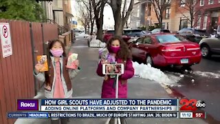 Girl Scout cookie season is officially underway