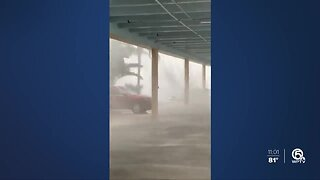 Severe storms blow through Martin County with heavy rain, strong winds