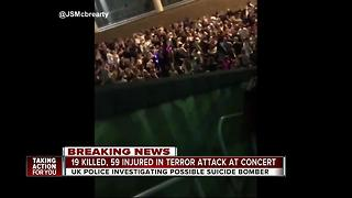 Explosion at Ariana Grande concert kills 19 - Video
