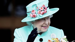The Queen Wears Bright Outfits For An Important Reason - Video