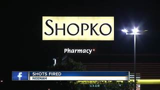 Shots fired at Neenah Shopko - Video