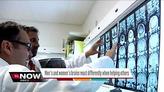 Men's and women's brains react differently when helping others, study says - Video