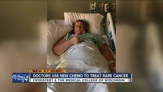 Delavan woman finds 30 pounds of tumors in her stomach - Video