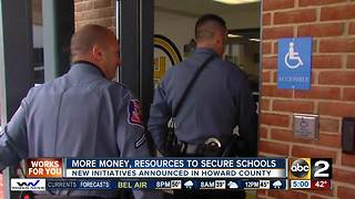 Howard County officials announce initiatives to ramp up security in schools - Video