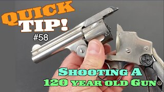 Would You Trust Your Life To A 120-Year-Old Revolver?