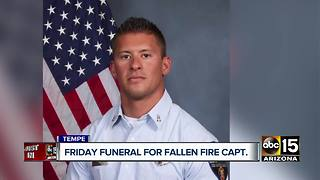 Tempe Fire captain's funeral slated for Friday - Video