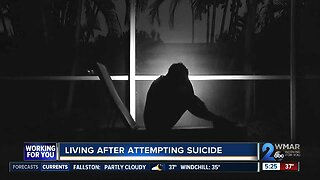 Living after attempting suicide