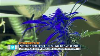 You can now legally smoke medical marijuana in Florida, judge rules - Video