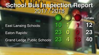 Some local school buses don't make the grade