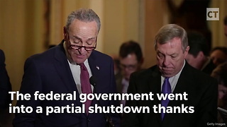 Senate Republicans Troll Schumer And Democrats After Gov't Shutdown With Special Gift - Video
