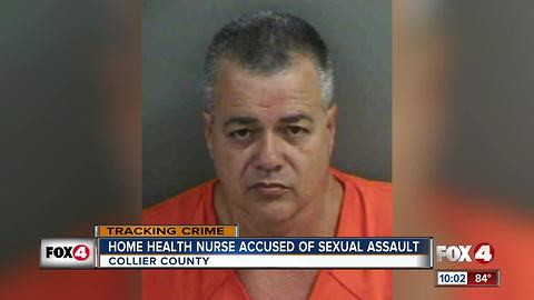 Nurse arrested on two counts of sexual assault