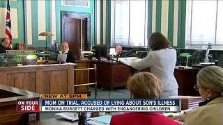 Mom on trial, accused of lying about son's illness - Video