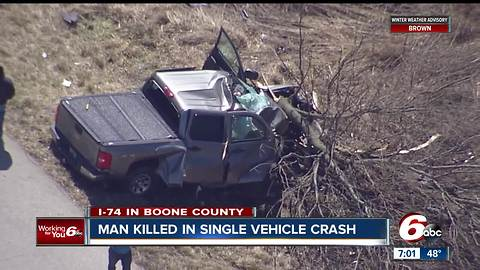 Two people killed in separate accidents in Boone County