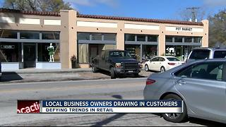 Despite shopping trends, Tampa stores find niche - Video