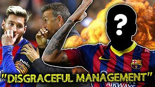 REVEALED: Ex-Barcelona Superstar Brands The Club \