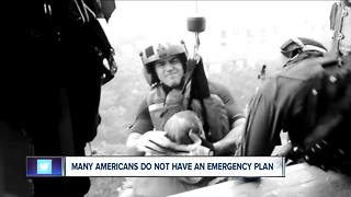 Many Americans do not have an emergency plan - Video
