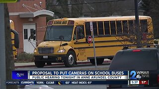 Proposal to put cameras on school buses