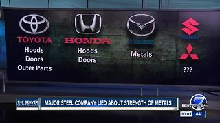 Japanese steel maker faked data for metal used in cars, planes - Video