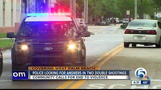 2 people shot, 1 killed in West Palm Beach, police investigating