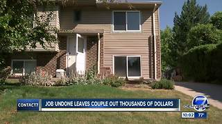 Family says contractor did shoddy work and left job unfinished; has history of scamming people - Video