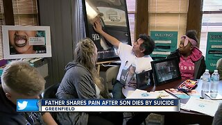 Father shares pain after son dies by suicide