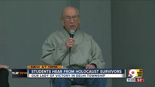 Students hear from Holocaust survivors - Video