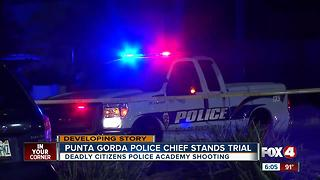 Punta Gorda Police Chief stands trial - Video