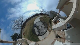 Clouds Time Lapse Tiny Planet!
