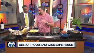 Detroit Food and Wine Experience - Video