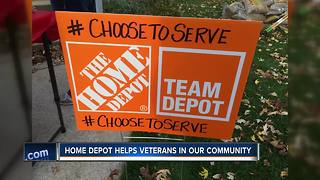 Home Depot, COTS help Northeast Wisconsin veterans - Video