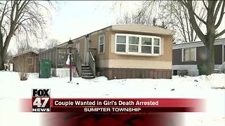 Michigan couple found and arrested for Gabby's death - Video