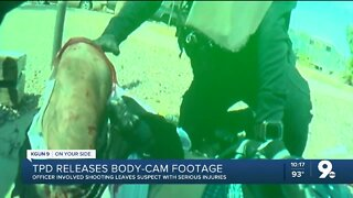 TPD releases body-cam video following officer involved shooting
