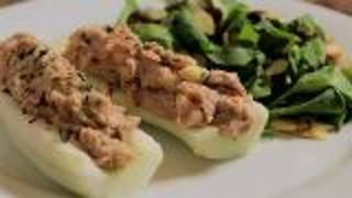 Healthy Lunch Ideas: Tuna Boats And Spinach Salad - Video