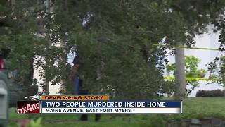 Two killed in Fort Myers home - Video