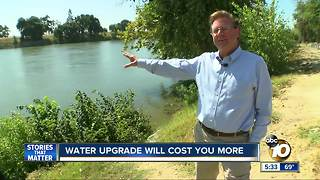 Water upgrade will cost you - Video