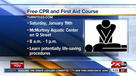 Free CPR and First Aid Course