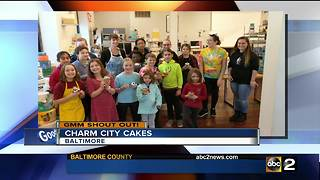 Good morning from Charm City Cupcakes - Video