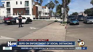 SDPD chief speaks on officers' contact with public