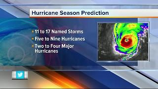 NOAA: Atlantic could see busy hurricane season - Video