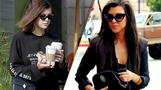Sofia Richie STEALING Kourtney Kardashian's Look to Keep Scott Disick Happy?? - Video