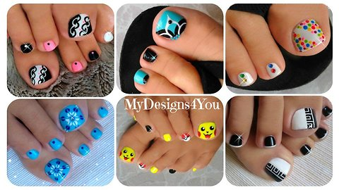 Toenail art compilation No.4