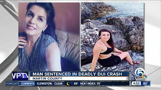 Driver sentenced in DUI crash that killed 2 sisters in Martin County - Video
