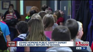 Johns Hopkins public safety expert talks about return to school