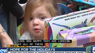 Cuyahoga County Children and Family Services host annual 'Hope for the Holidays' event - Video