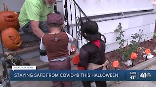 Health officials say trick-or-treating OK if you do it safely, wear masks