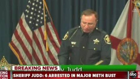 Sheriff Judd tells President-Elect Trump to build a wall in latest press conference