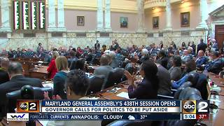 Priorities for 2018 MD General Assembly include tax reform, health care, crime reduction - Video