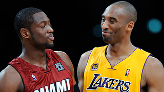 Dwyane Wade Reveals Where He Ranks Kobe on the All-Time Shooting Guard List - Video